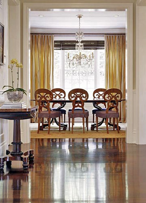 49 best Dining Room Window Treatments images on Pinterest | Dining ...