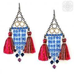 earrings Moulin Rouge http://www.mellblue.com/ #earrings #jewelery