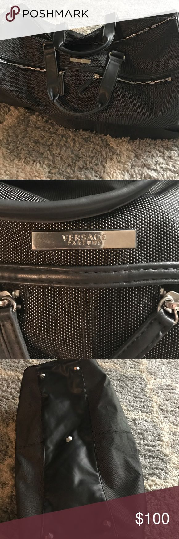Versace Duffle bag Authentic Versace Duffle Bag.  Great quality Bags