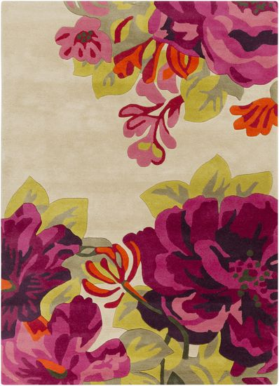 This Sanderson Collection rug from Surya will bring natural beauty into your home with a powerful and moving floral pattern. (SND-4507)