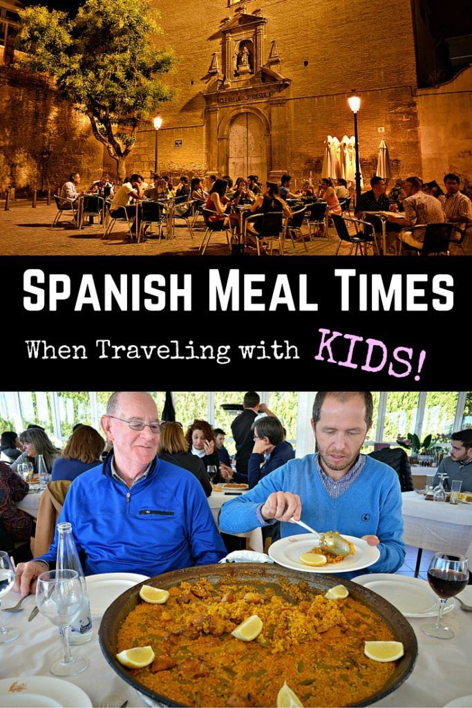 Spanish Meal Times Breakfast, Lunch & Dinner in Spain