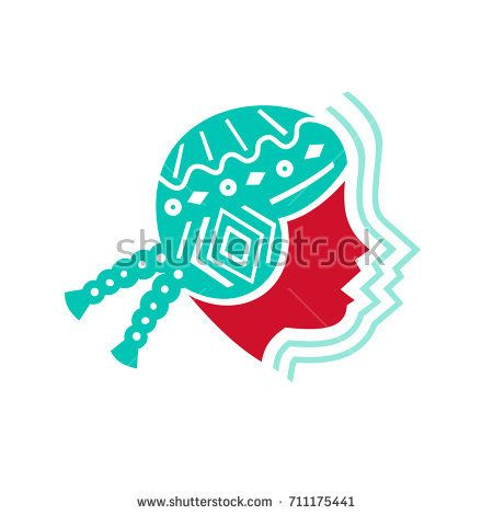 Icon style illustration of Peruvian Girl wearing Hat viewed from Side with echo sound volume sign on isolated background  #peruviangirl #icon #illustration