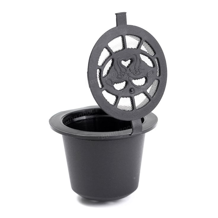 Home Kitchen Refillable Coffee Capsule Cup Reusable Refilling Filter For Nespresso Machine at Banggood
