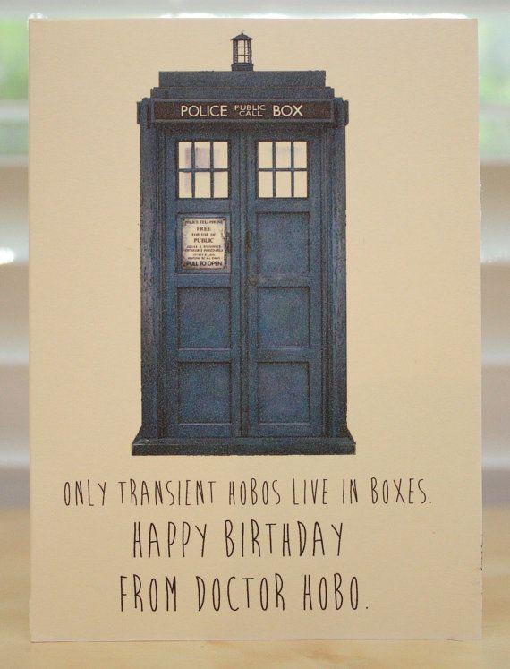 The 25 best Dr who birthday card ideas – Nerdy Birthday Card