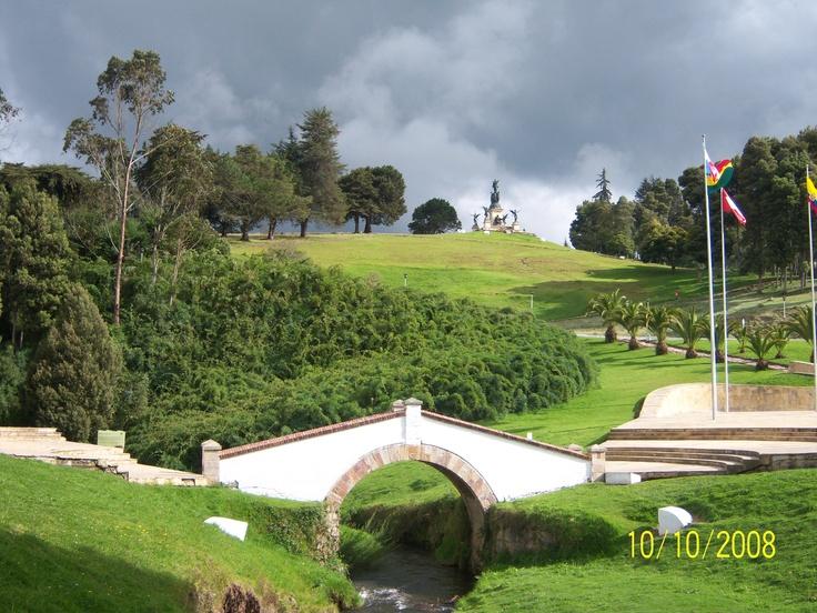 Colombia - Puente de Boyaca, Boyaca