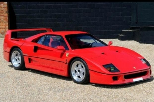 1989 Ferrari F40 - another classic people forget about in recent times.
