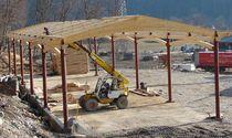 Case din busteni | Case de lemn | Case beam and post | Constructor case lemn