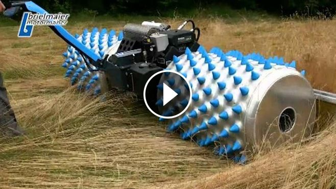 Most Innovative Mower in the World - This is the most innovative German mower ever built! The Brielmaier Company from Southern Germany, delivered their brand new inn