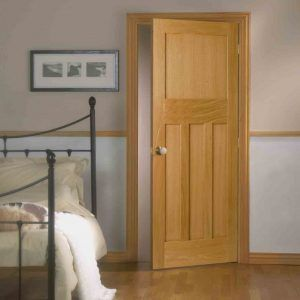 Solid White Oak Interior Doors