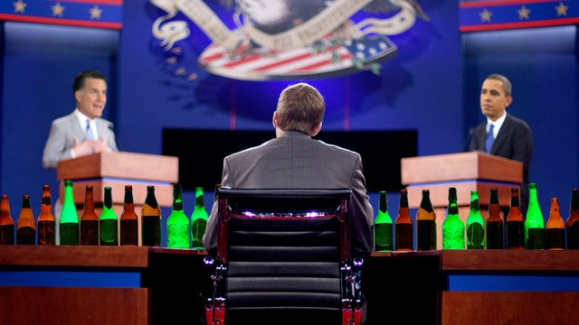 The Ultimate Presidential Debate Drinking Game for Ladies. Gear up for the remaining debates, girls.