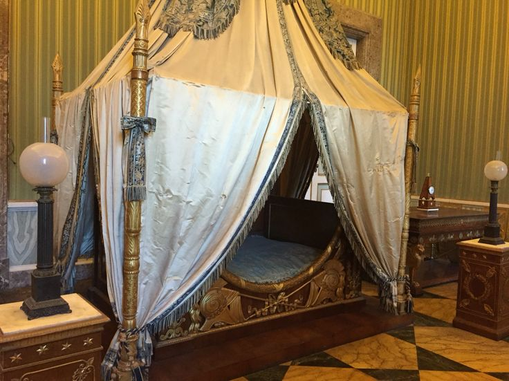 Bedroom in the Royal Palace of Caserta