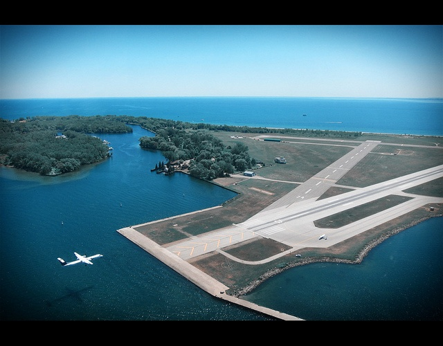 Toronto Island Airport (Billy Bishop Airport) by Fanagt, via Flickr