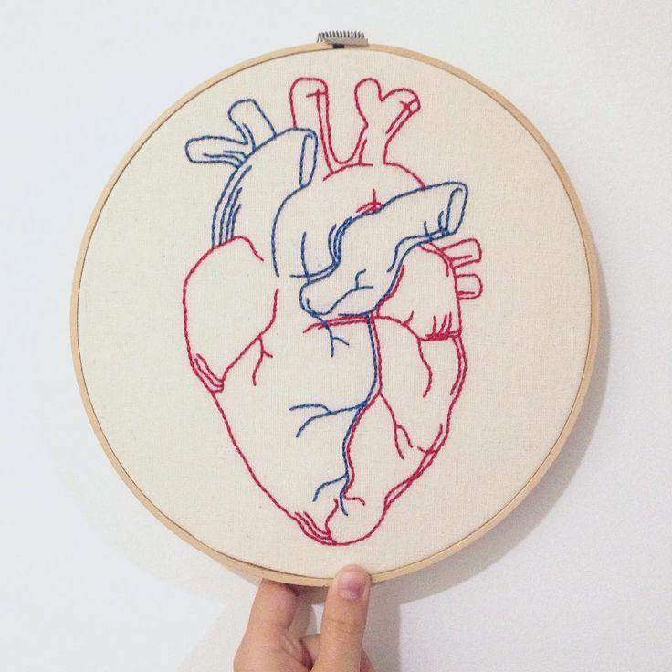 Vistoso El Corazón De Dibujo Anatómico Colección de Imágenes ...