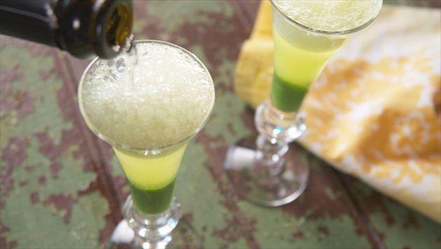Sweet Pea Springtime Mimosa Recipe : Nancy Fuller : Food Network