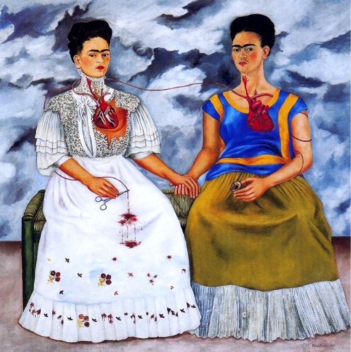 """""""Las dos Fridas,"""" Frida Kahlo"""