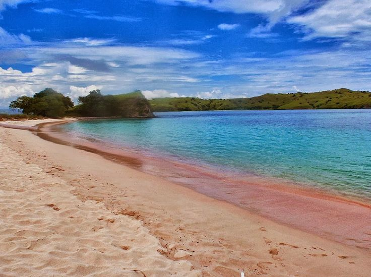 Hidden Paradise of Pink Beach in Lombok Island, Indonesia by http://goo.gl/z9nMqE