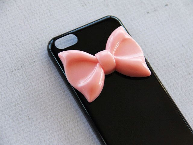 iPhone 5c Bow Case iPhone 5c Ribbon Case 5c Black Phone Case Smartphone Cover Bow iPhone5c Pink Large Bow iPhone 5c Case for Girls Teens by CaseCavern on Etsy https://www.etsy.com/listing/185580088/iphone-5c-bow-case-iphone-5c-ribbon-case