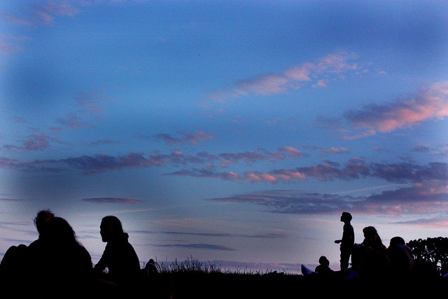 Dusk at Primrose Hill, London via http://townfish.com. Follow us: http://twitter.com/townfish_london