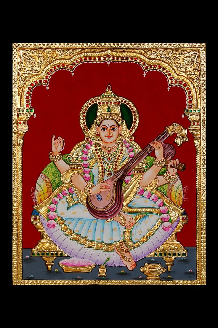Chitramayi   Tanjore Painting, God Painting, Ganesha Painting, Oil Painting, Handicraft Diya, Wall Mural, Pottery Craft, Ceramic pots, Terracotta Urli