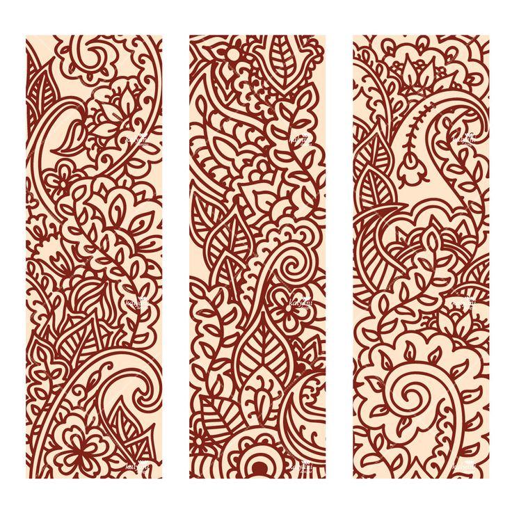 Printable Henna Tattoo Designs: 137 Best Henna On Paper Images On Pinterest