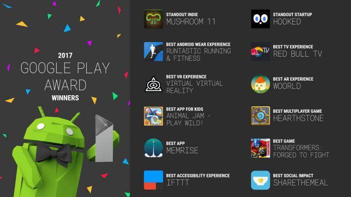 Google valitsi parhaista parhaimmat – tässä ovat vuoden 2017 parhaat sovellukset Androidille