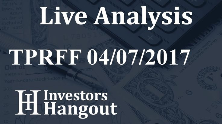 $TPRFF Stock Live Analysis 04-07-2017 Gran Colombia Gold Corp. (TPRFF): $TPRFF Stock Live Analysis 04-07-2017 Gran Colombia Gold Corp.…