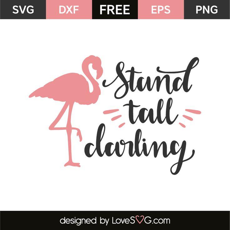 Download Stand tall darling | Lovesvg.com | Silhouette design ...