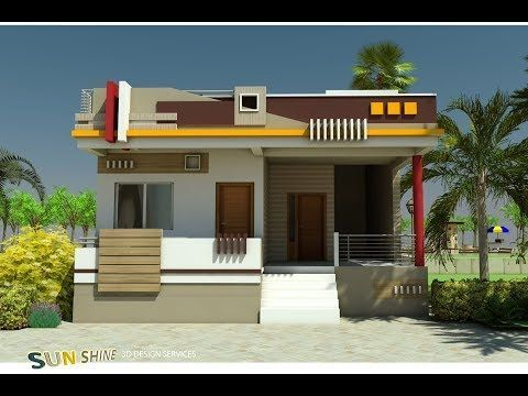 Front Elevation Designs Single Floor In 2020 Small House Elevation Design Single Floor House Design House Front Design