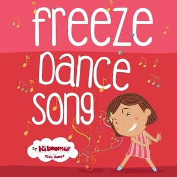 """Freeze Dance"" song is a great way for children ""to get the wiggles out!""   The game is built right into the music: Move and dance when the music plays, stop/freeze when prompted. It's fun for circle time or parties."