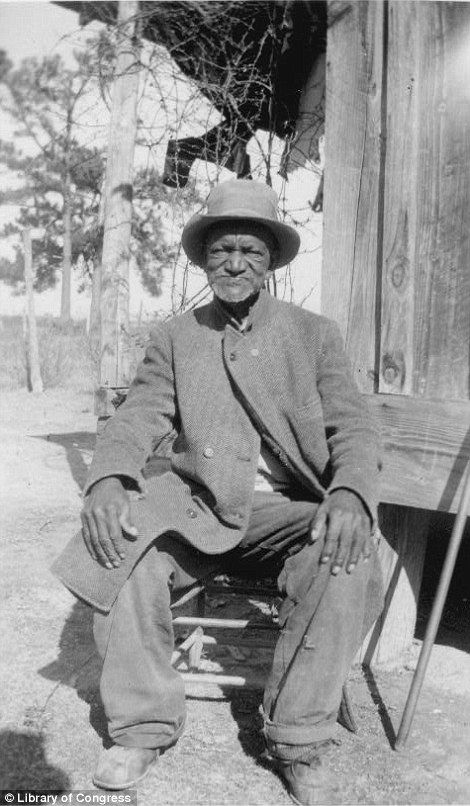 Wes Brady, ex-slave, Marshall, TX, taken in the late 1930s, as part of the Federal Writers' Project (FWP), 70 years after abolition.