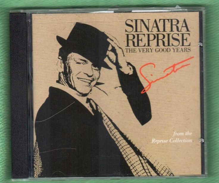 Sinatra Reprise: The Very Good Years by Frank Sinatra 20 Songs Best Hits CD 1991