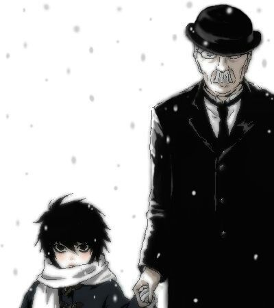 L Lawliet and Watari <3 This is adorable!