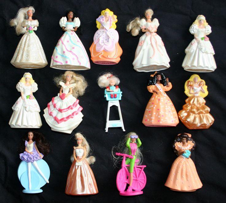Vintage-1990s-Barbie-Dolls-McDonalds-Happy-Meal-Toys