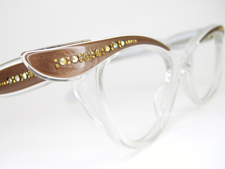 Vintage 50s Cat Eye Eyeglasses or Sunglasses by Vintage50sEyewear, $134.00: 1950S Style, Cat Eyes, Vintage Wardrobe, Glasses 134, 13400, 50S Cat, Cat Eye Glasses, Vintage 50S, Eye Eyeglasses