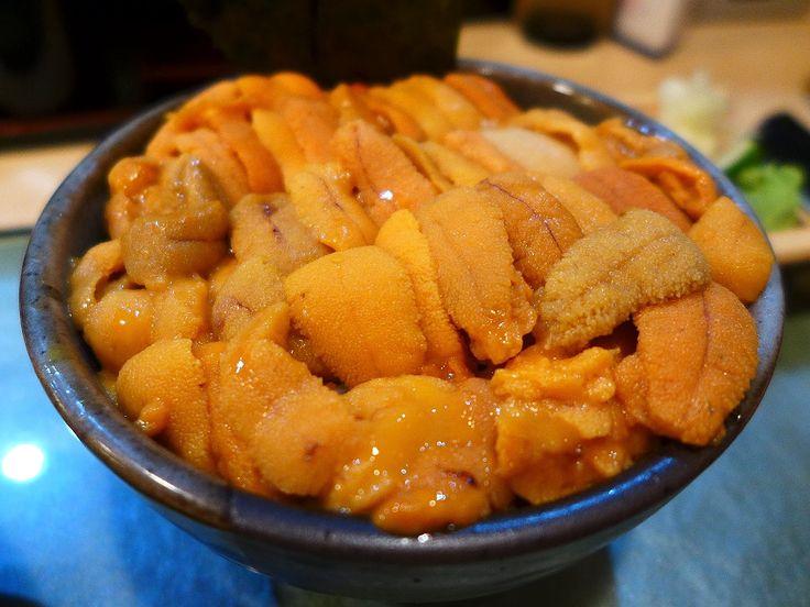 甘~いうにがびっしり敷き詰められたうに丼で幸せいっぱいです! 築地 「鮨國」 | Mのランチ