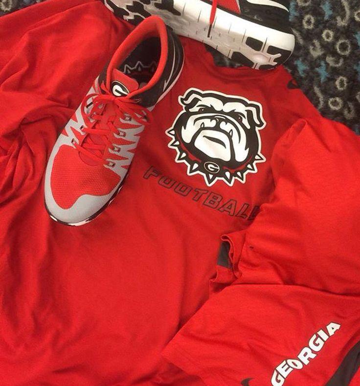 finest selection 870b6 9b4c6 ... Georgia Bulldogs, Falcons, Christmas 2015, Wonderful Time, University Nike  Lunar ...