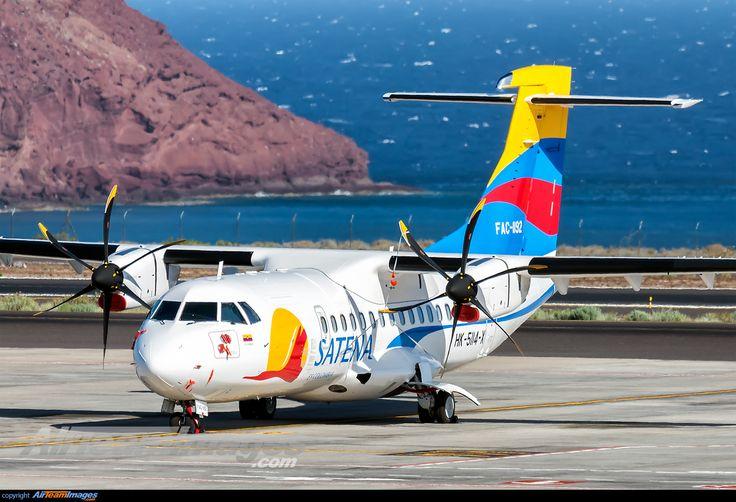 Satena ATR 72 600 (HK-5114-X) Tenerife - Reina Sofia Airport