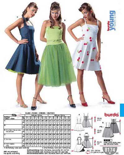 patron couture robe burda