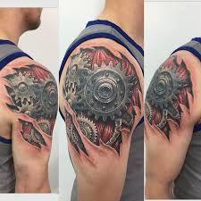 Hasil gambar untuk biomechanical tattoos