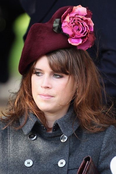 Princess Eugenie Photos - British Royals Attend Christmas Day ...