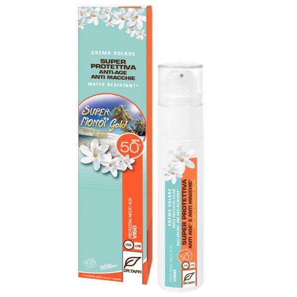 Cremaspecifica per viso e zone molto delicatecome ilcontorno occhi SPF50 Antiage Anti macchie Nickel tested Water resistant Fragranza ipoallergenica 50 ml