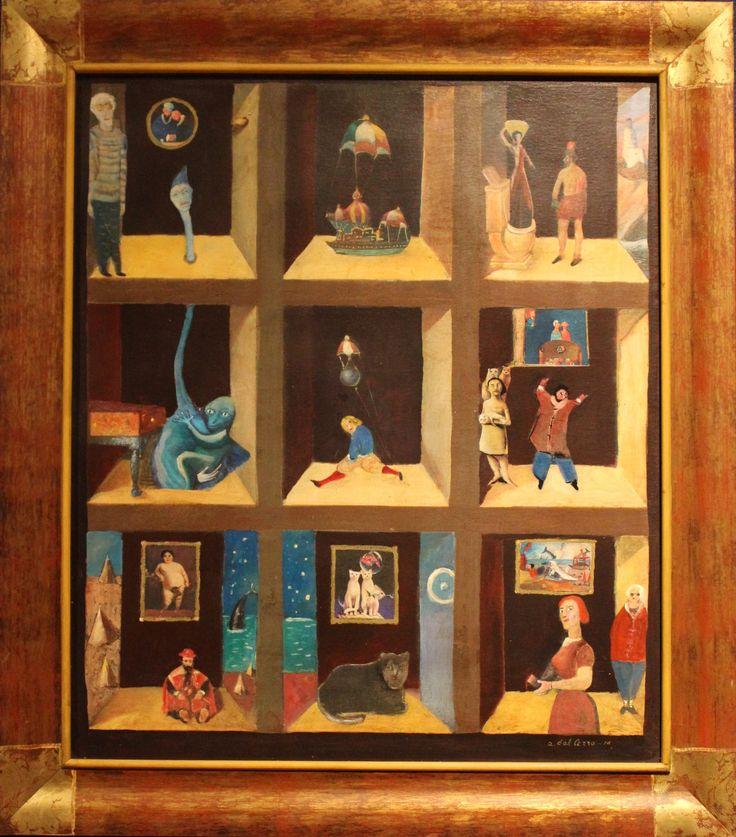 """""""La vetrina immaginaria"""", opera di Alberto dal Cerro"""