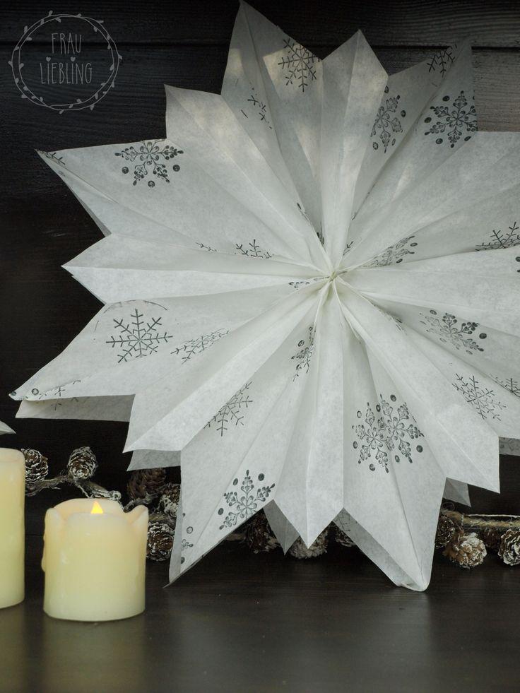 DIY Weihnachtsstern aus Papier