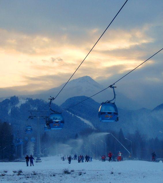 Bansko, Bulgaria Fab place, scary Bridget Jones skiing, yummy food http://bulgariatravelagent.com