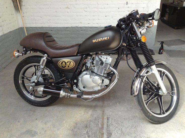 suzuki intruder 125 cafe racer motos intruder 125. Black Bedroom Furniture Sets. Home Design Ideas