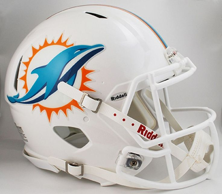 NFL Miami Dolphins VSR4 Authentic Helmet