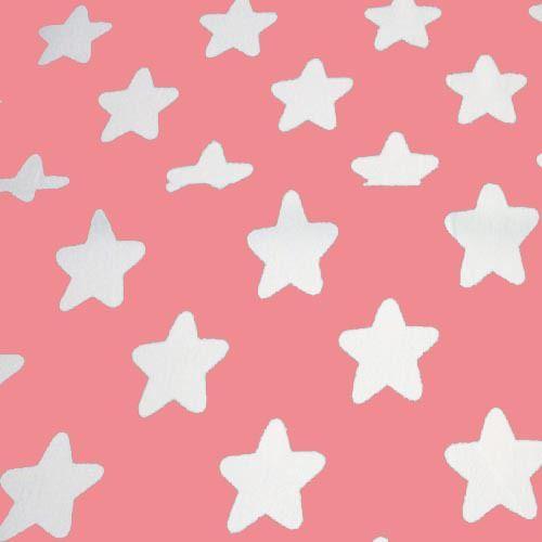 Розовый с белым stars100 % хлопок саржа ткани ручной работы DIY для шитья лоскутное куклы ремесло дети потертый шик ткани по метркупить в магазине Ai Guo Trading Co., Ltd.наAliExpress