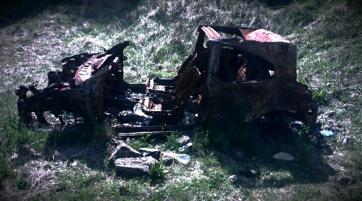 Burnt car + filter