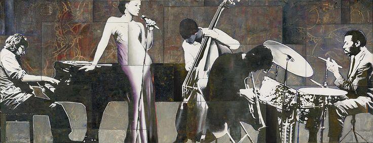 Геометрическая живопись Sergio Cerchi