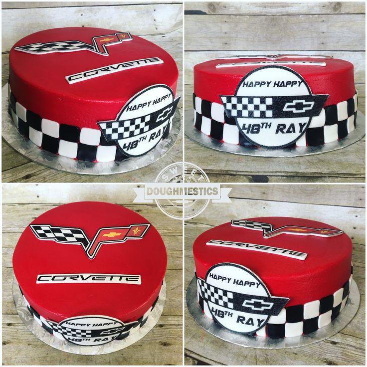 Corvette Cake by Sweet Doughmestics